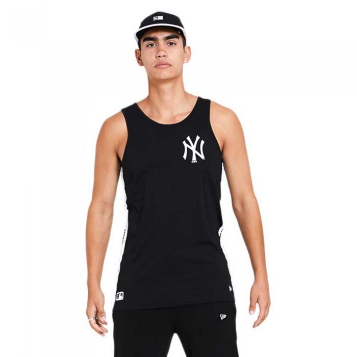 [해외]뉴에라 MLB Taped New York Yankees Sleeveless T-Shirt 3137703507 Black