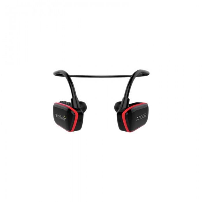 [해외]SUNSTECH Argos Mp3 Waterproof 7136214858 Black / Red