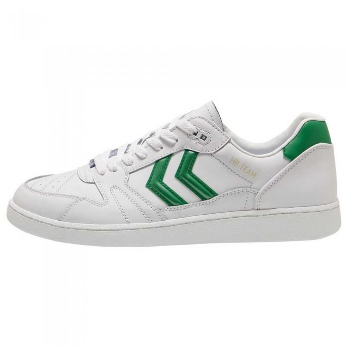 [해외]험멜 HB Team Leather 7137972350 White/Green