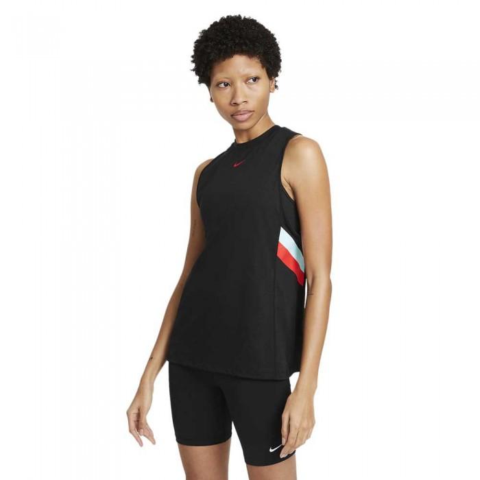 [해외]나이키 Dri Fit Stripe 7138031209 Black / Chile Red