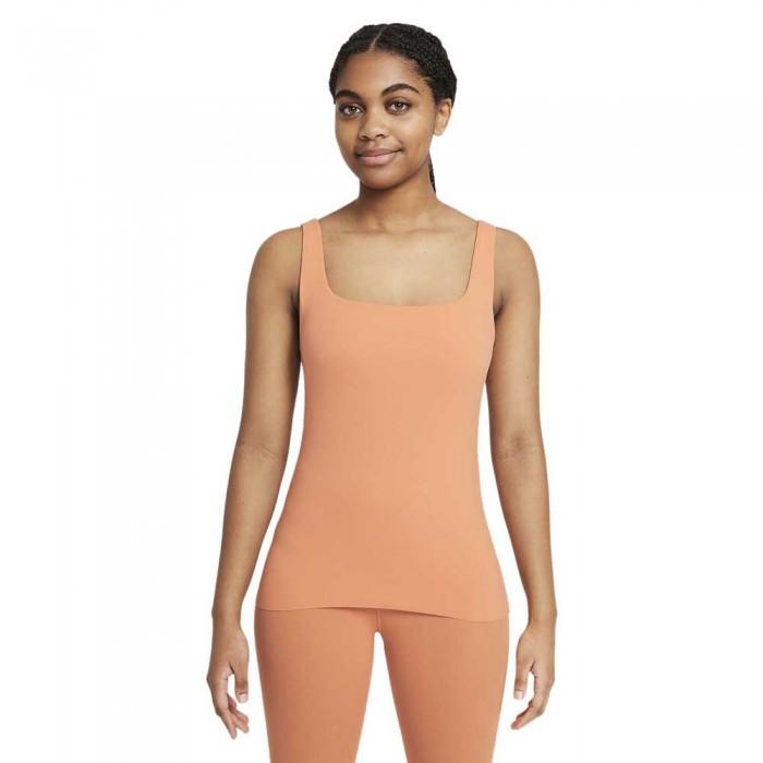 [해외]나이키 Yoga Luxe Shelf 7138031359 Healing Orange / Apricot Agate
