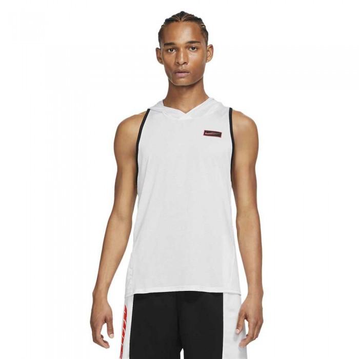 [해외]나이키 Sport Clash Hoodie 7138030608 White / Black / Lt Fusion Red