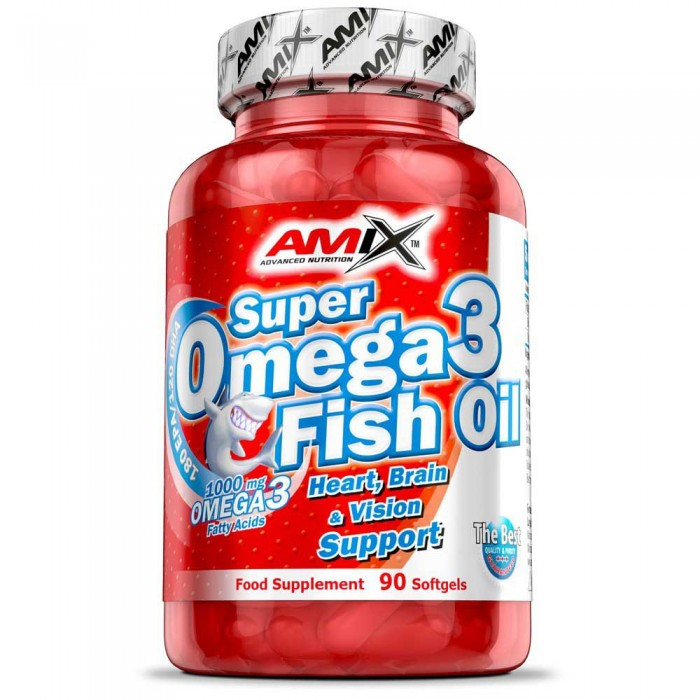 [해외]AMIX Super Omega 3 Fish Oil 90 Units Without Flavour 14137599010