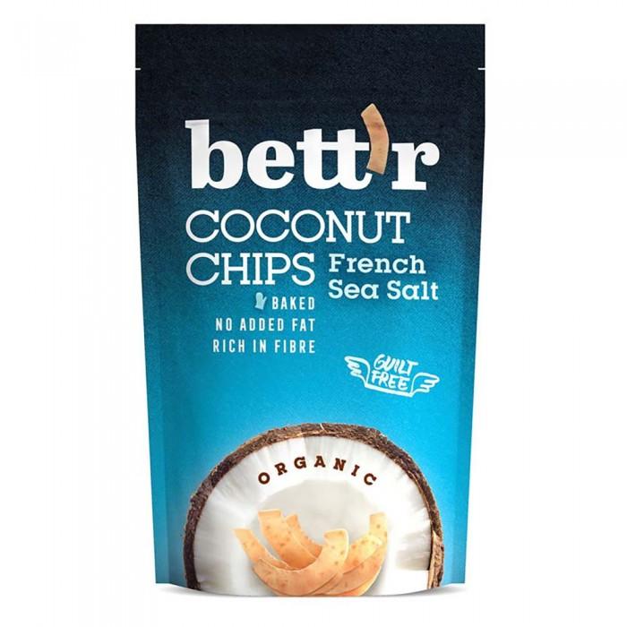 [해외]BETTR Coconut Chips 70 gr French Sea Salt Bio 14138042629