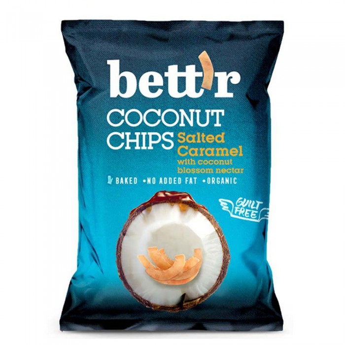 [해외]BETTR Coconut Chips 40 gr Salted Caramel Bio 14138042631