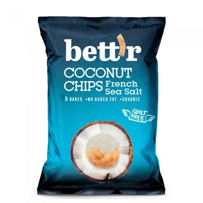 [해외]BETTR Coconut Chips 40 gr French Sea Salt Bio 14138042632