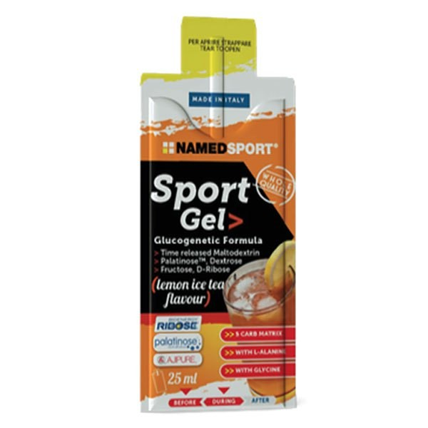 [해외]NAMED SPORT Sport Gel Hydratation 25ml 15 Units Ice Tea 14138083950
