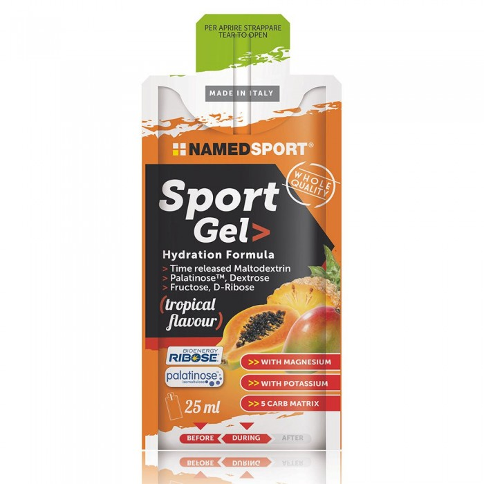 [해외]NAMED SPORT Sport Caffeine 25ml 15 Units Tropical 14138083951