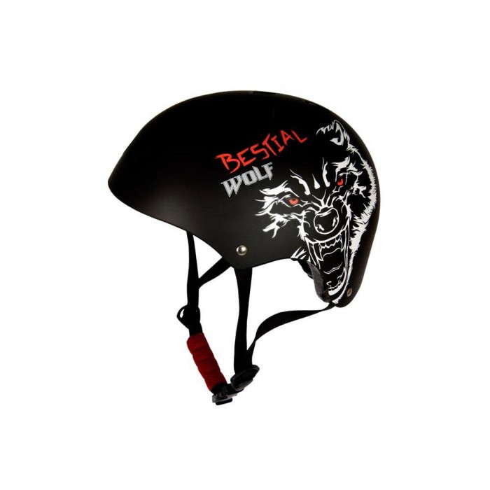 [해외]BESTIAL WOLF BlackSkull Helmet 14136352007 Black