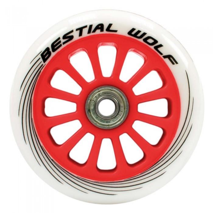 [해외]BESTIAL WOLF Pilot Wheel 14136333557 Red