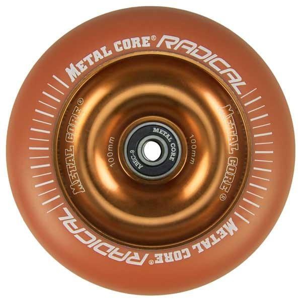 [해외]METAL CORE Radical Wheel 14136657478 Orange / Orange Fluorescent