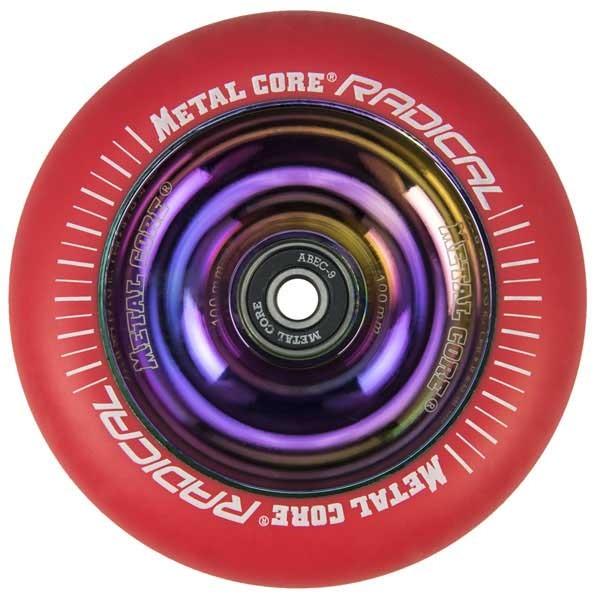 [해외]METAL CORE Radical Wheel 14136657486 Red / Rainbow Fluorescent