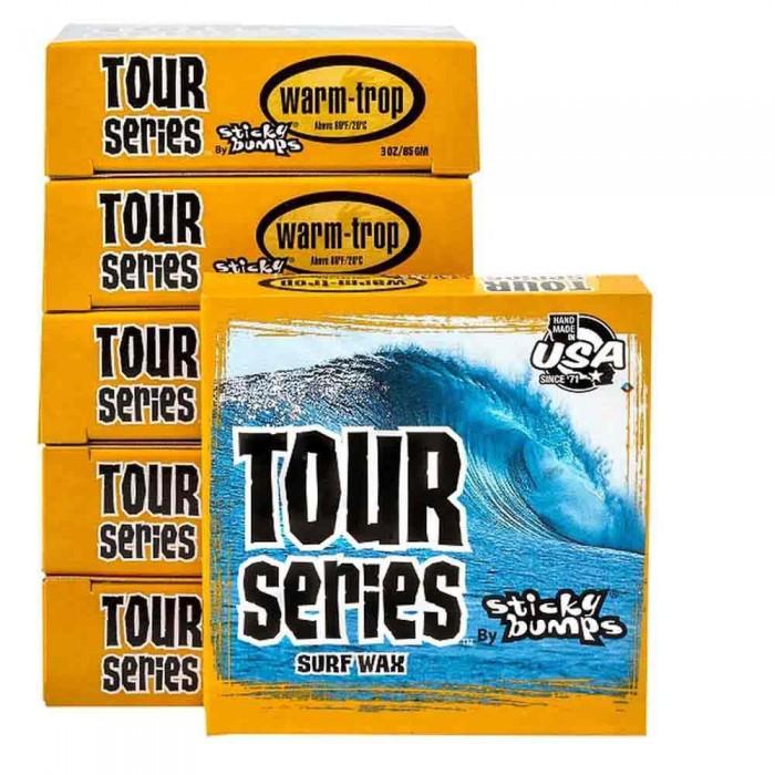 [해외]STICKY BUMPS Tour Warm/Tropical Wax 14137835988 Orange