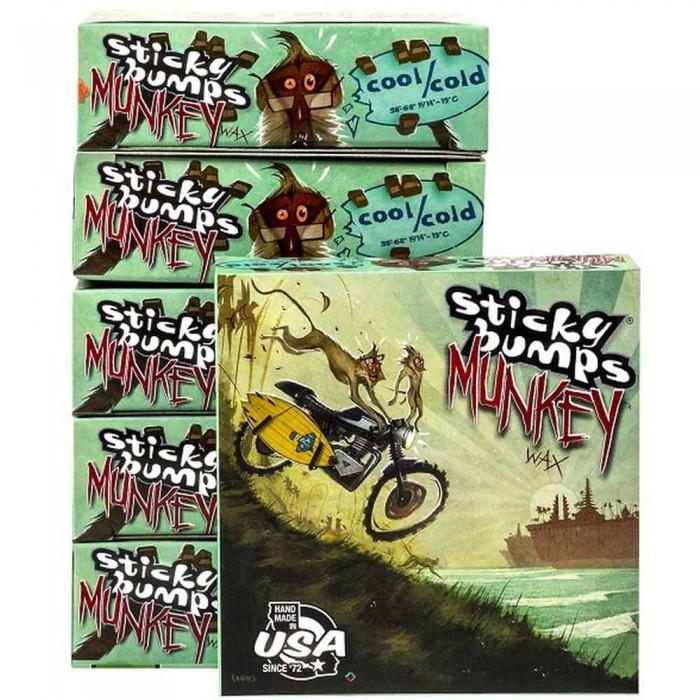 [해외]STICKY BUMPS Munkey Surf Wax 14137835992 Cold / Cool