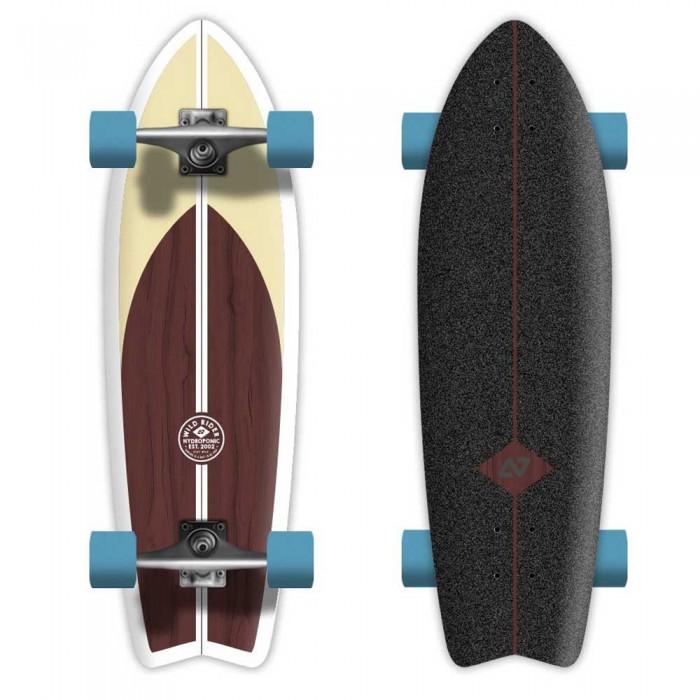 [해외]HYDROPONIC Clasic 2.0 Skateboard 14137988808 Brown