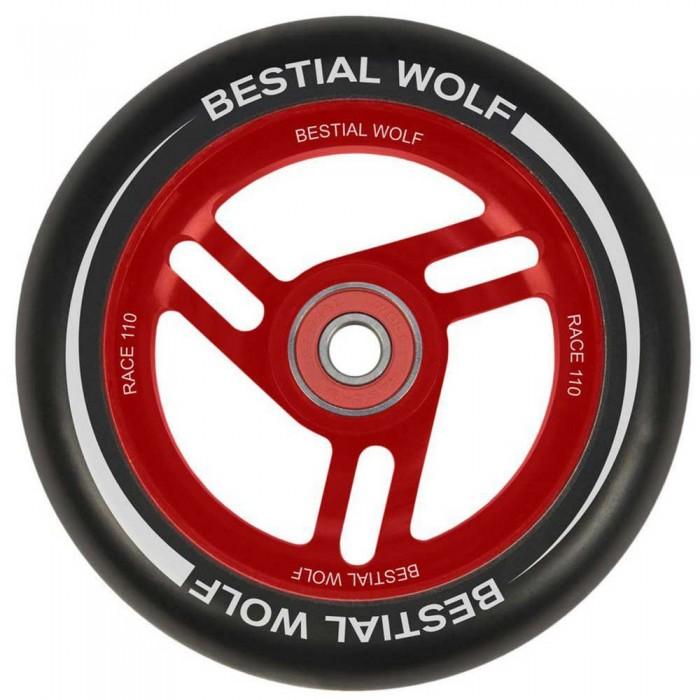 [해외]BESTIAL WOLF Race 110 mm 14138095738 Red / Black