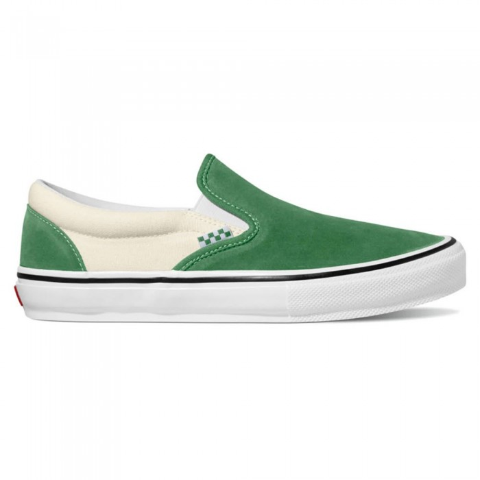 [해외]반스 Skate Slip-On 14137883092 Juniper / White
