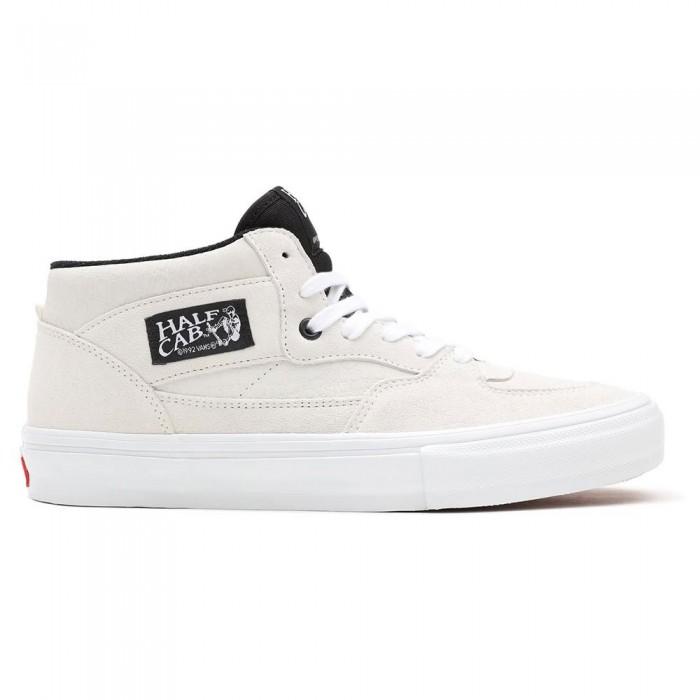 [해외]반스 Skate Half Cab 14137883111 Marshmallow / White