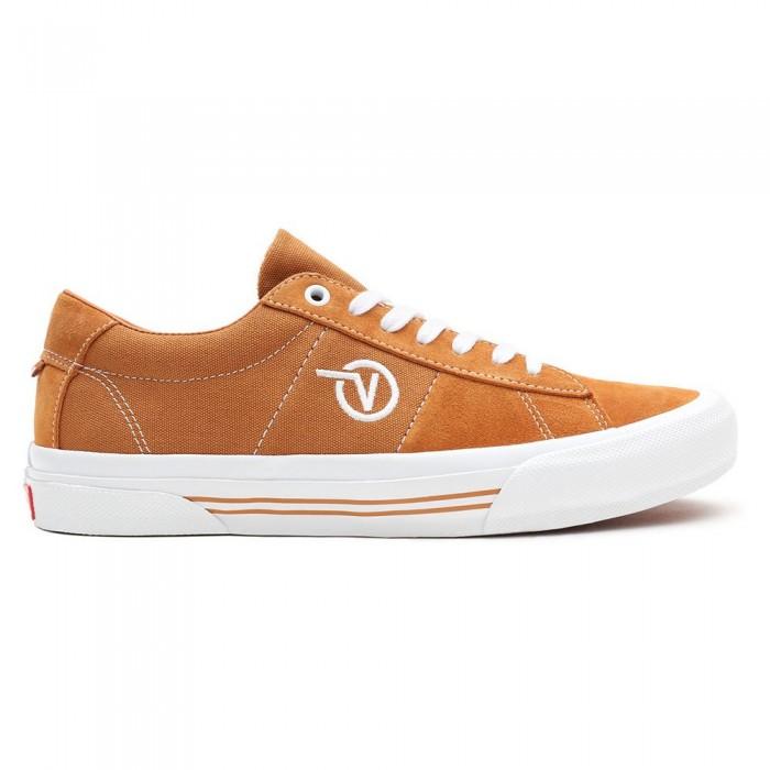 [해외]반스 Skate Sid 14137883112 Pumpkin / White