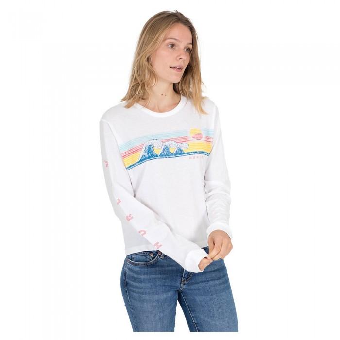 [해외]헐리 Retro Wave Perfect Long Sleeve T-Shirt 14137493912 White