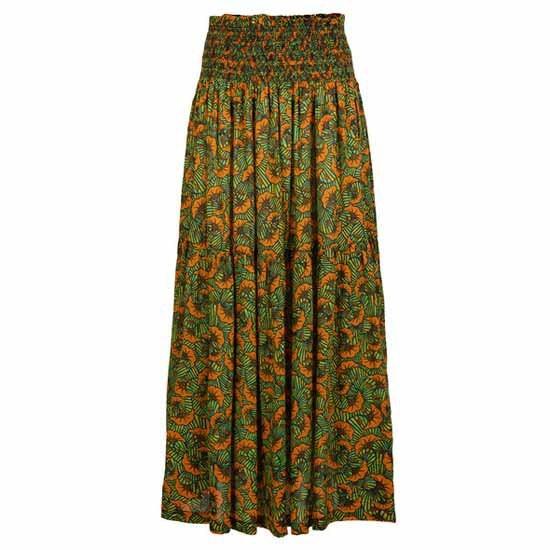 [해외]오닐 Citizen Woven Skirt 14137946081 Yellow All Over Print / Green