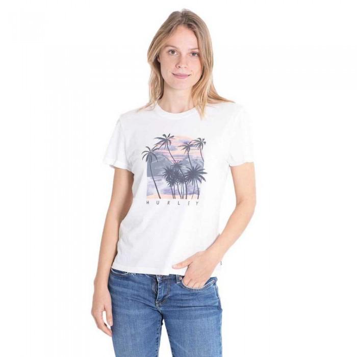 [해외]헐리 Koh Lanta Washed Girlfriend Short Sleeve T-Shirt 14137965709 Sail