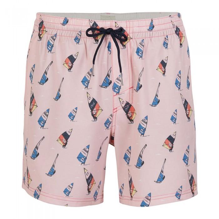 [해외]오닐 Originals Windsurfer 14137945574 Pink All Over Print