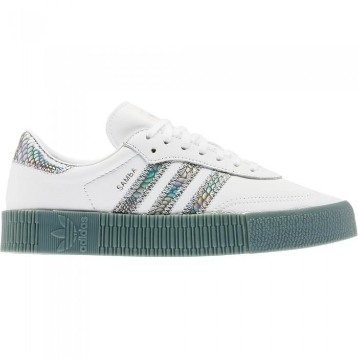 [해외]아디다스 ORIGINALS Sambarose Ftwr White / Supplier Colour / Hazy Emerald
