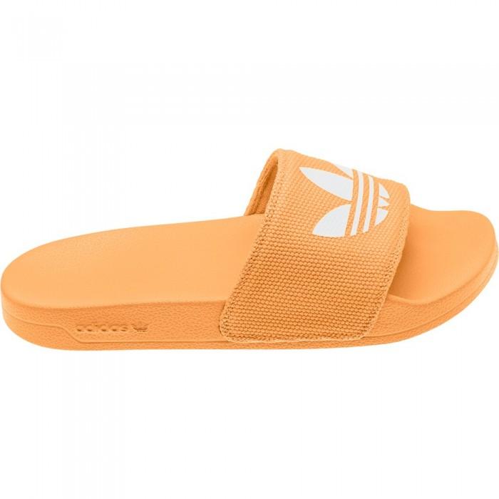 [해외]아디다스 ORIGINALS Adilette Lite Hazy Orange / Ftwr White / Hazy Orange