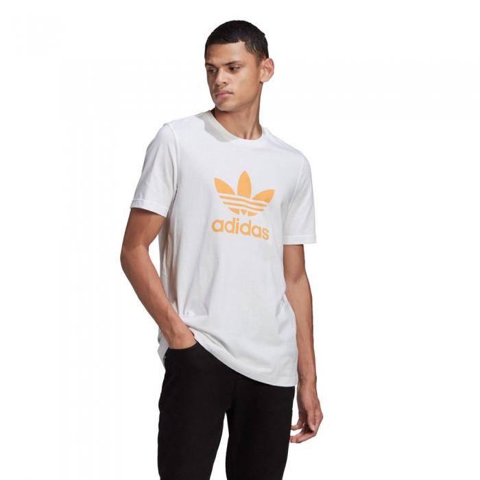 [해외]아디다스 ORIGINALS Adicolor Trefoil White / Hazy Orange