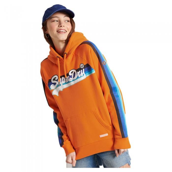 [해외]슈퍼드라이 Vintage Logo Cali Raglan Shocker Orange