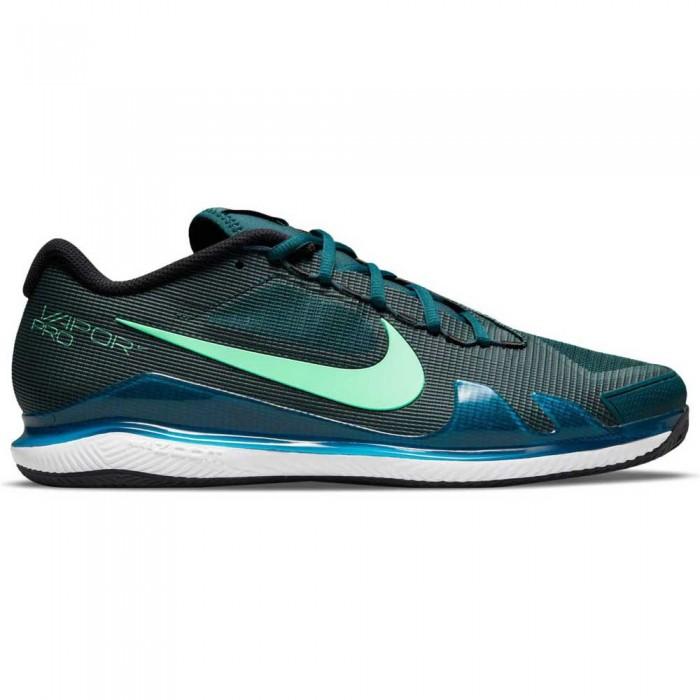 [해외]나이키 Court Air Zoom Vapor Pro Clay 12138031528 Dark Teal Green / Green Glow / White / Black