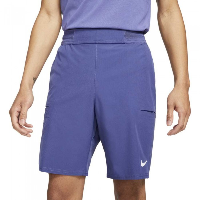 [해외]나이키 Court Dri Fit Advantage 9´´ 12138031509 Dk Purple Dust / White