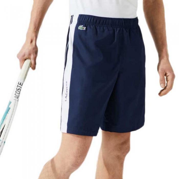 [해외]라코스테 Sport Contrast Bands Lightweight 12138094305 Navy / White / White