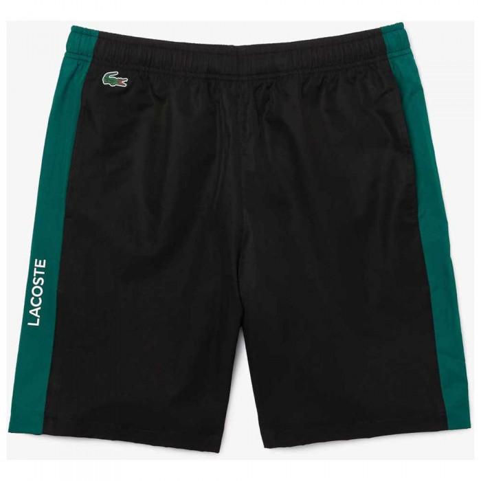 [해외]라코스테 Sport Contrast Bands Lightweight 12138094307 Black / Bouteille / Bouteille