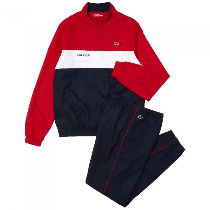 [해외]라코스테 Sport Packable 12138094424 Rubis / Navy / White