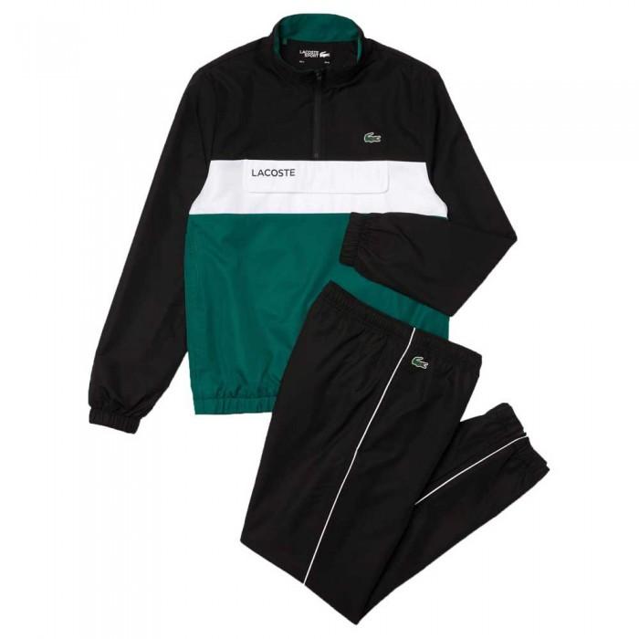 [해외]라코스테 Sport Packable 12138094425 Black / Bouteille / White