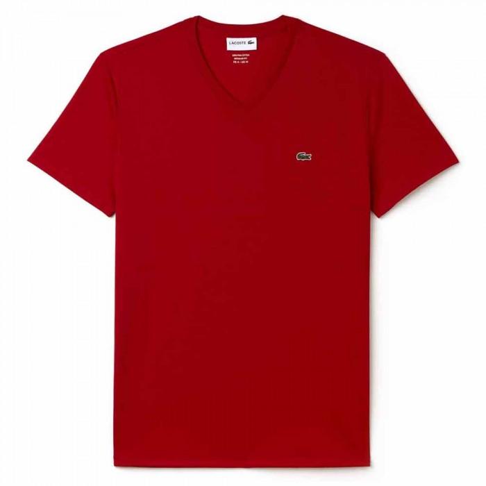 [해외]라코스테 TH6710 T Shirt Crew Neck 12136466793 Red
