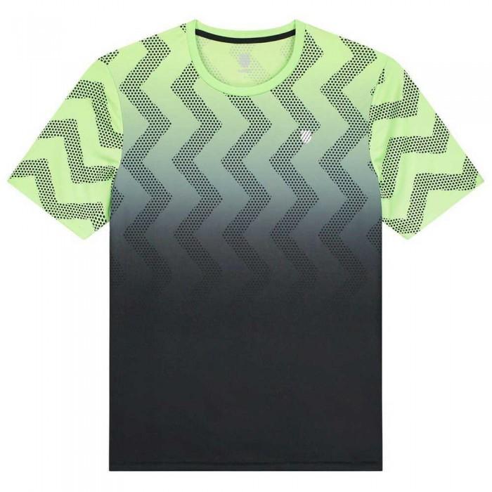 [해외]케이스위스 Hypercourt Print 12137916031 Soft Neon Green / Blue Graphite