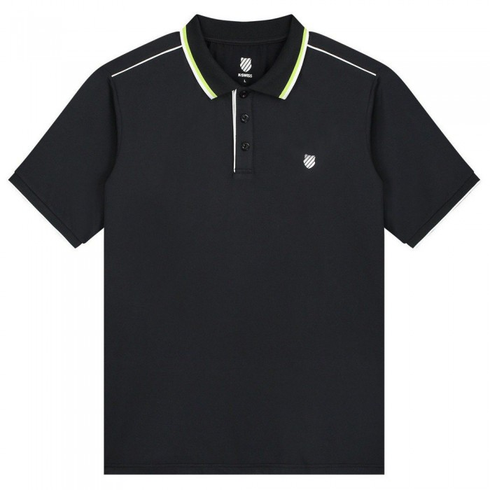 [해외]케이스위스 Hypercourt 3 Short Sleeve Polo Shirt 12137916018 Blue Graphite