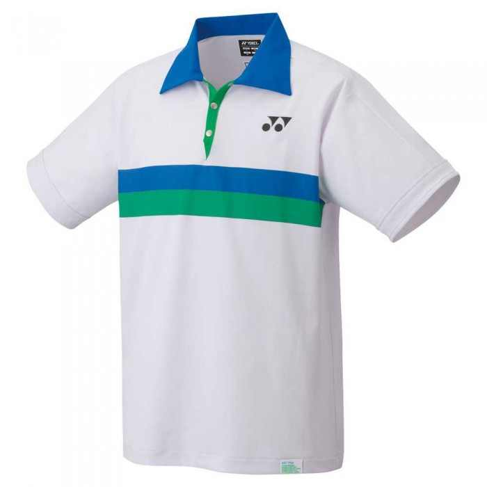 [해외]YONEX Elite Short Sleeve Polo Shirt 12138091634 White
