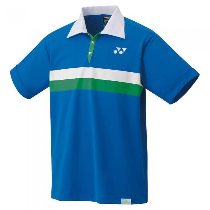 [해외]YONEX Elite Short Sleeve Polo Shirt 12138091635 Blue Sapphire