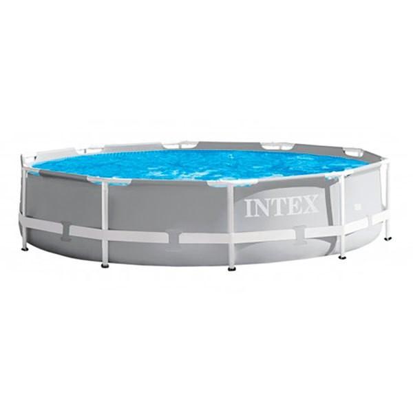 [해외]인텍스 Round Above Ground Swimming Pool Prisma Frame Range 6137204415