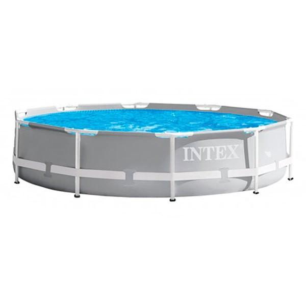 [해외]인텍스 Prisma Frame Round Collapsible Swimming Pool With Filter 6137204418