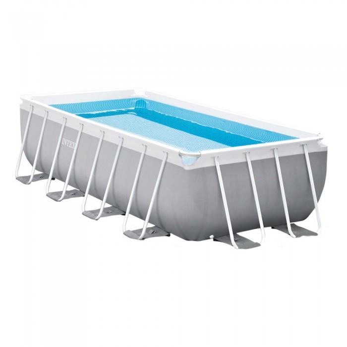 [해외]인텍스 Prisma Frame Rectangular Above Ground Swimming Pool With Filter 6137204432