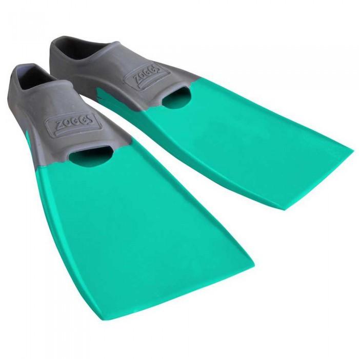 [해외]조그스 Blade Rubber Long Swimming Fins 6137896202 Grey / Aqua
