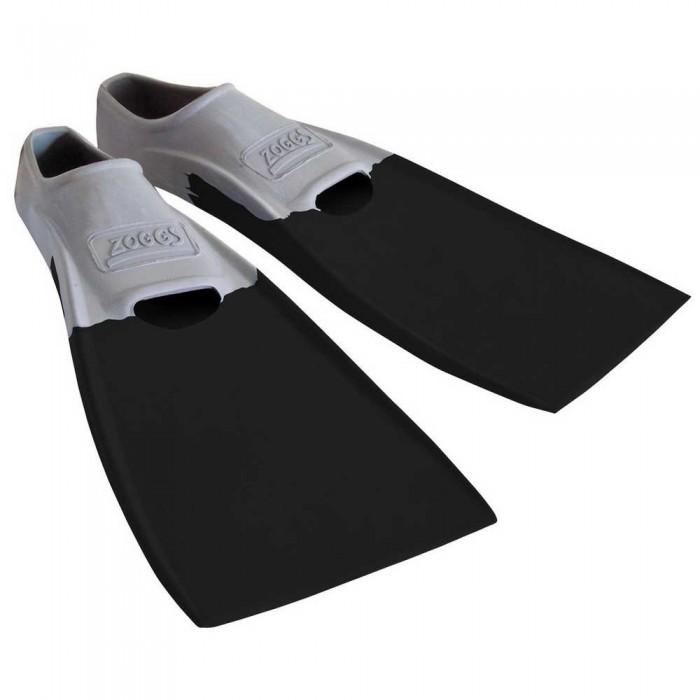 [해외]조그스 Blade Rubber Long Swimming Fins 6137896203 Grey / Black