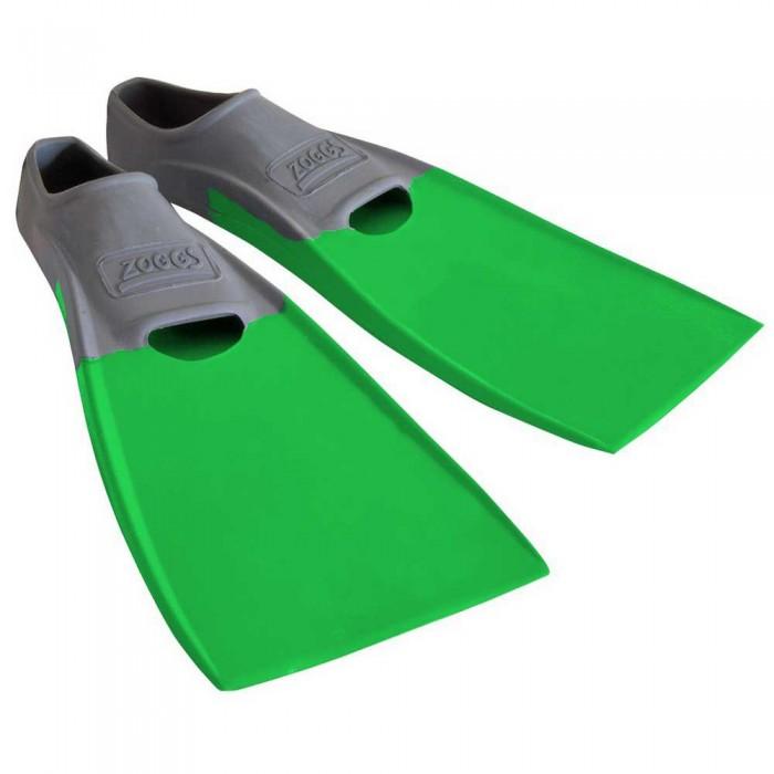 [해외]조그스 Blade Rubber Long Swimming Fins 6137896204 Grey / Green