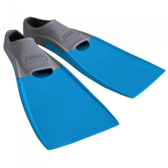 [해외]조그스 Blade Rubber Long Swimming Fins 6137896205 Grey / Light Blue