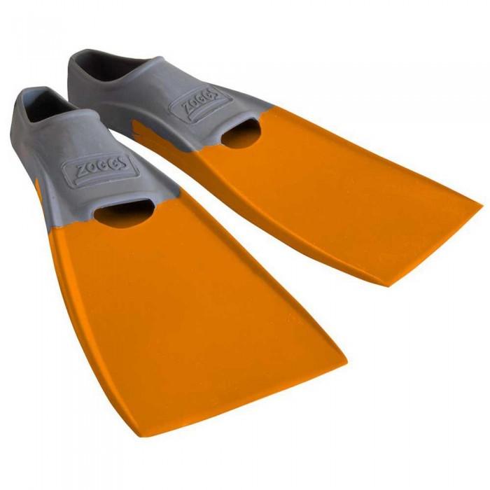 [해외]조그스 Blade Rubber Long Swimming Fins 6137896207 Gery / Orange